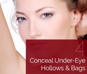 Conceal Under Eye Bags and Hollows