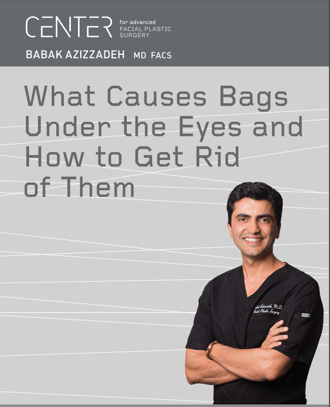Dr. Babak Azizzadeh talking about what causes bags under the eyes